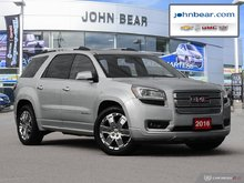 2016 GMC Acadia Denali JUST TRADED, ONE OWNER, SERVICE RECORDS