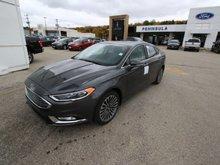 2017 Ford Fusion SE  - Sunroof - Navigation