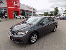 2013 Honda Civic LX... CLEAN CARPROOF.. HEATED SEATS