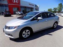 2015 Honda Civic LX.. UNDER 20, 000KM! CLEAN CARPROOF!
