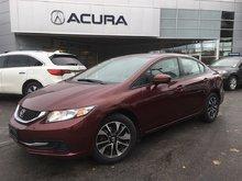 2015 Honda Civic EX   NEWTIRES   ONLY58000KMS   EXTENDEDWARRANTY