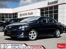 2013 Toyota Corolla S- ONLY 68217 KMS