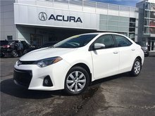 2016 Toyota Corolla S   6SPD   BLUETOOTH   HTDSEATS   1OWNER   4CYL