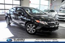 Honda Civic Sdn AUTOMATIQUE, MAGS, AIR CLIM., GR. ÉLECTRIQUE... 2012