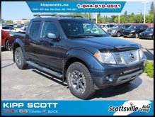 2015 Nissan Frontier PRO-4X, Heated Leather, Nav, Bluetooth, Clean