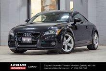 2011 Audi TT QUATTRO; AUTO CUIR GPS BLUETOOTH MAGS