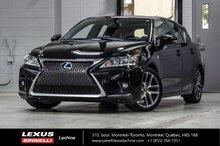 2015 Lexus CT 200h HYBRIDE F SPORT: CUIR TOIT GPS CAMERA