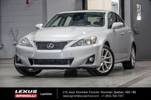 2012 Lexus IS 250 AWD; CUIR TOIT NAVIGATION CAMERA