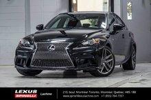 2015 Lexus IS 350 F SPORT II AWD; CUIR TOIT GPS