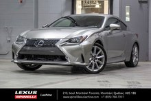 2015 Lexus RC 350 EXECUTIF AWD: CUIR TOIT GPS AUDIO LSS+
