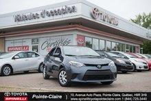 2014 Toyota Corolla CE PKG DEMARREUR A DISTANCE!!!