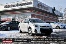 2015 Toyota Corolla *****S PKG 6 VITESSE A VOIR!!!!!!!