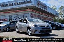 2015 Toyota Corolla LE ECO PKG