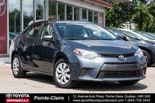 2015 Toyota Corolla **RÉSERVÉ ***LE PKG