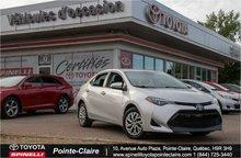 2017 Toyota Corolla LE PKG CAM DE RECULE