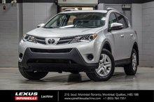 2014 Toyota RAV4 LE 2WD; CAMERA BLUETOOTH SIÈGES CHAUFFANTS