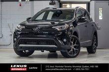 2017 Toyota RAV4 SE AWD; CUIR TOIT GPS ANGLES MORTS