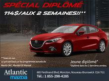 Spécial diplômés chez Atlantic Mazda
