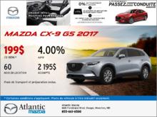La Mazda CX-9 2017 en rabais