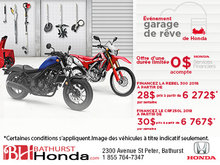 L'événement Garage de rêve de Honda
