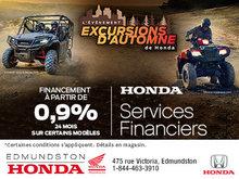 L'événement Excursions d'automne chez Edmundston Honda