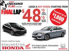 Honda Checkered Flag Event!