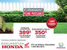 L'événement pleine puissance chez Edmundston Honda