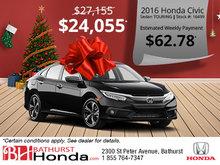 Save on the 2016 Honda Civic Sedan