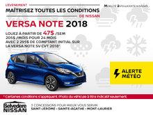 Versa Note 2018