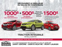 L'événement Traction Intégrale Intelligente de Nissan!