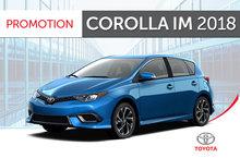 Corolla iM 2018
