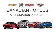 Canadian Forces-Appreciation discount