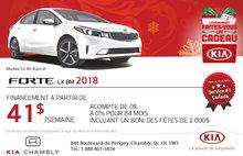 Procurez-vous la nouvelle Kia Forte 2018 aujourd'hui
