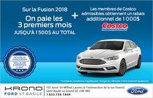 Économisez sur la Ford Fusion!