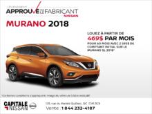 Nissan Murano 2018 chez Capitale Nissan