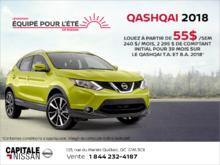 Louez le Nissan Qashquai 2018! chez Capitale Nissan
