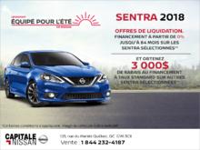 Nissan Sentra 2018 chez Capitale Nissan