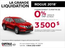 Le Nissan Rogue 2018! chez Capitale Nissan