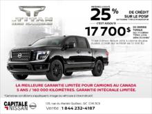 Le Nissan Titan 2018 ! chez Capitale Nissan