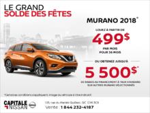 Le Nissan Murano 2018! chez Capitale Nissan