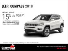 Conduisez un Jeep Compass 2018!