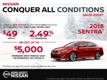 Get the 2018 Nissan Sentra Today