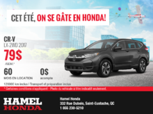 Louez la Honda CR-V 2017