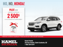 Louez la Honda Pilot 2017