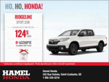 Honda Ridgeline 2018 en rabais!