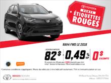 Le Toyota RAV4 2018