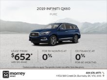 2019 QX60 Pure