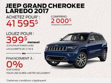 Jeep Grand Cherokee 2017 financement à 0%!