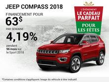Jeep Compass 2018 en rabais