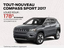 Jeep Tout-Nouveau Compass Sport 2017 en rabais